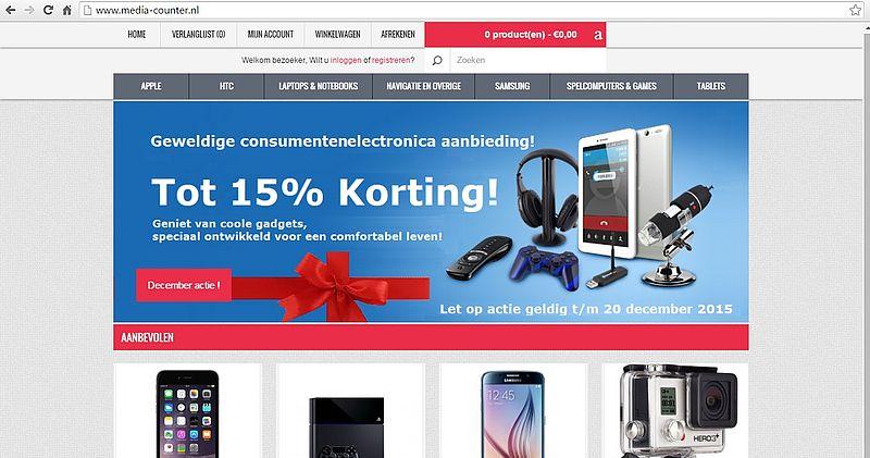 'Doe geen aankopen bij media-counter.nl'