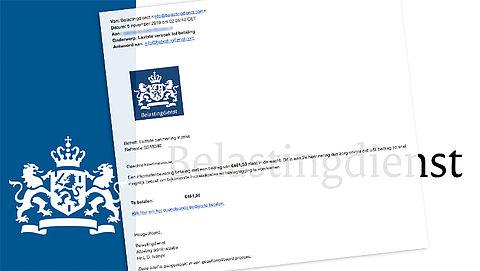 Trap niet in mail met nep-aanmaning van de 'Belastingdienst'