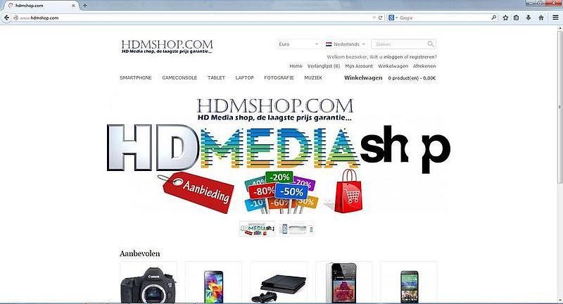 'Hdmshop.com maakt misbruik van gegevens'