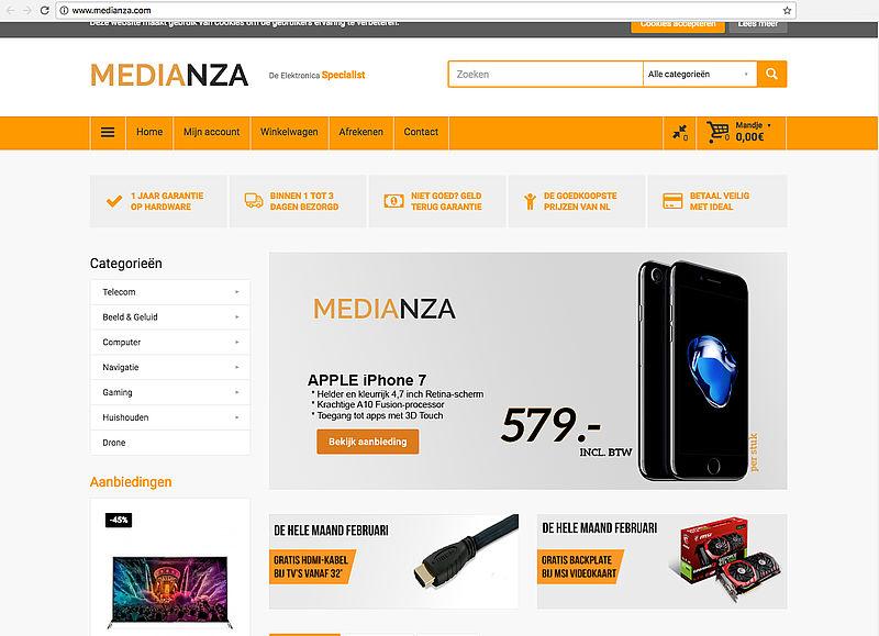 Politie waarschuwt voor medianza.com