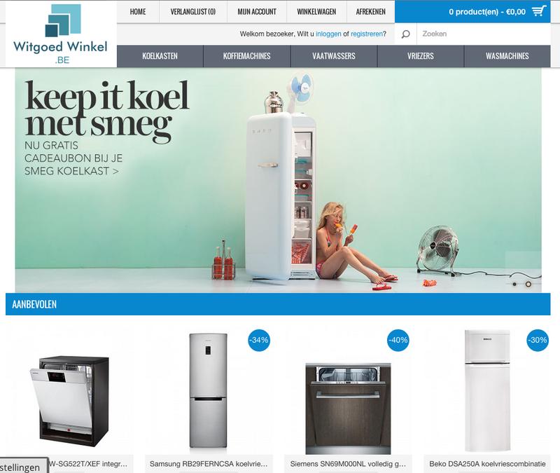 'Witgoed-winkel.be misbruikt logo en certificaat Thuiswinkel.org'