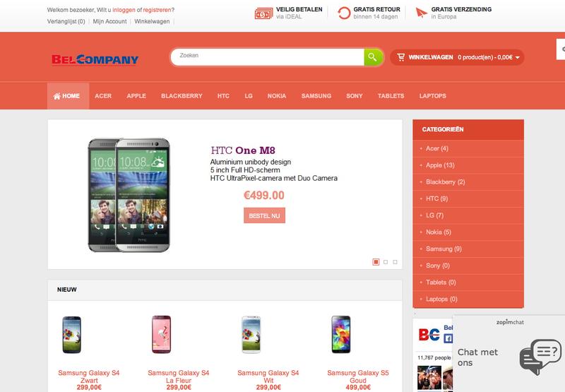 'Belcompany-shop.com misbruikt gegevens'