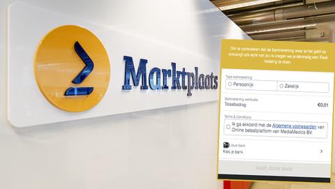 Oplichters op Marktplaats: 'Je bankrekening verifiëren door een iDEAL-betaling te doen'