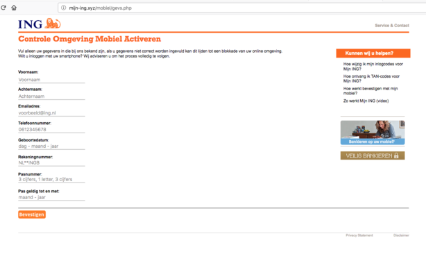 Pas Op Voor Realistische Valse E Mail Ing Opgelicht Avrotros