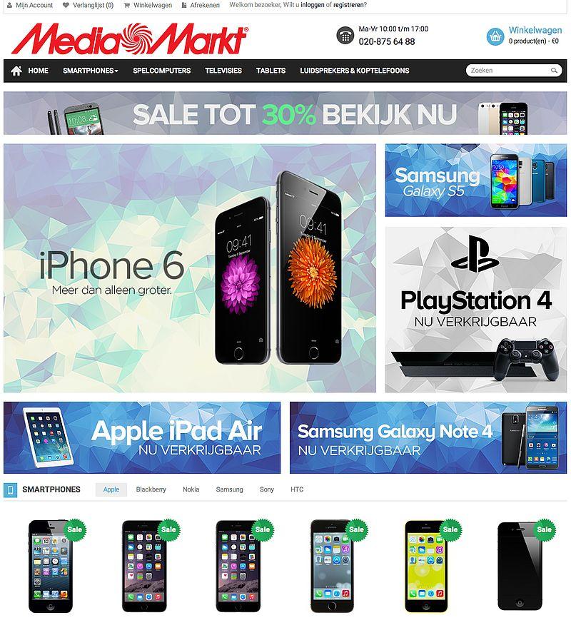 'Mediamarkt-winkel.com misbruikt gegevens'