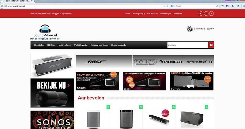 'Sound-store.nl hackt Marktplaatsaccounts'