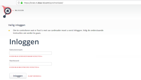 Valse e-mail 'Knab' in omloop