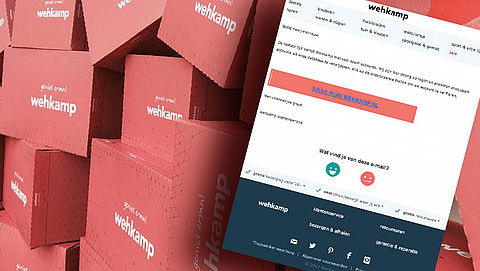 Pas op voor phishingmail 'Wehkamp'