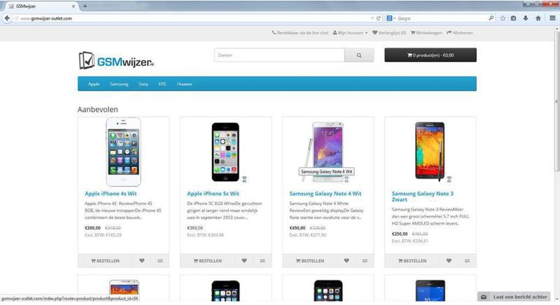 'Doe geen aankopen bij gsmwijzer-outlet.com!'