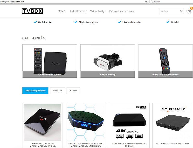 Politie waarschuwt voor bestetvbox.com