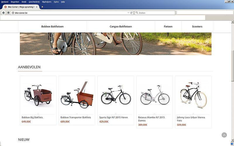'Doe geen aankopen bij bike-corner.be'
