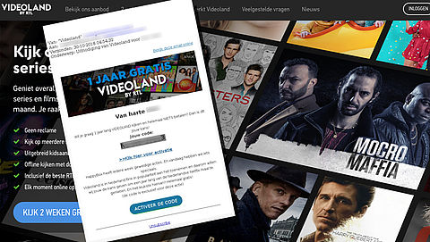 Pas op: phishingmail van 'Happy Box' over Videoland-account