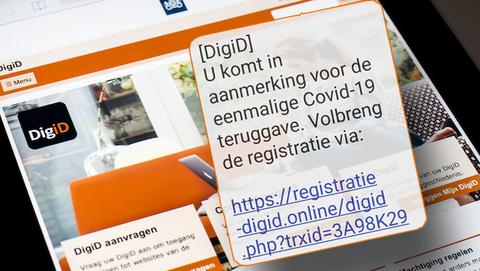 Covid-19-teruggave van 'DigiD'? Oplichters willen jouw bankrekening plunderen