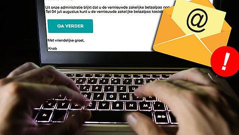 Pas op voor phishingmail van 'Knab'