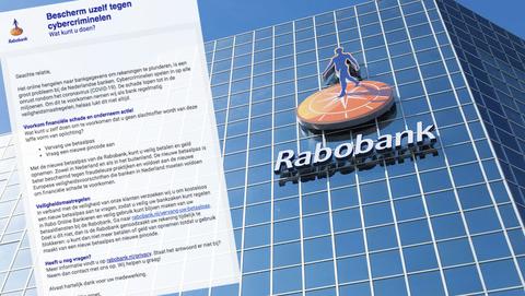 Valse e-mail 'Rabobank' met als onderwerp 'Het coronavirus en uw bankzaken'