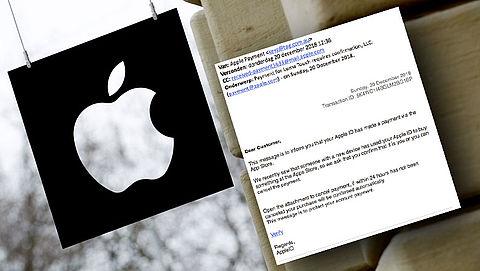 Pas op voor nepfactuur van 'Apple'