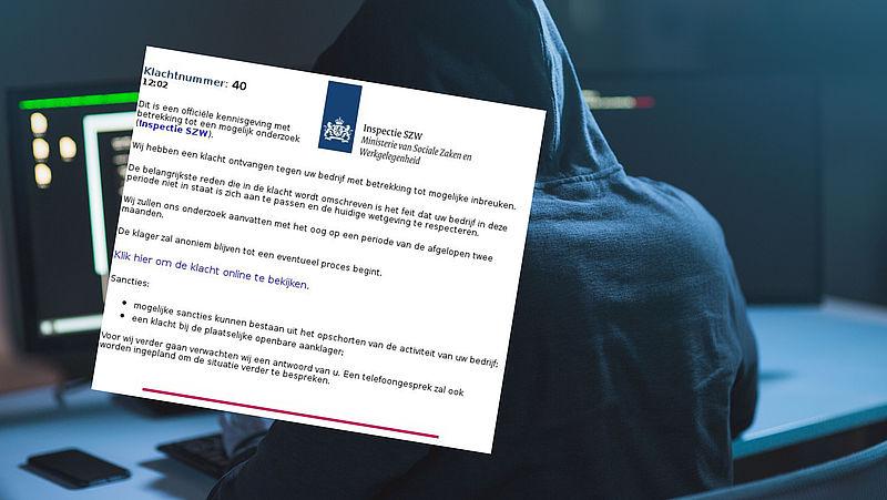 Pas op voor valse mail uit naam van Inspectie SZW