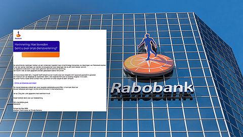 'Rabobank'-mail over fraude is zélf frauduleus