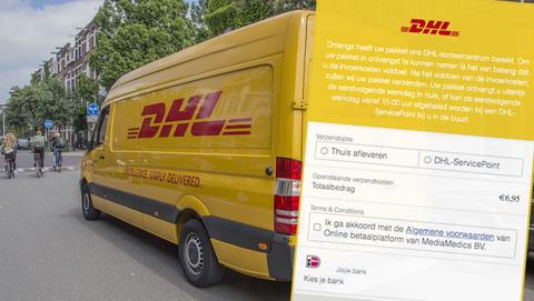 Sms van 'DHL' is overtuigende en gevaarlijke phishing: 'Voldoe de invoerkosten voor uw pakket'