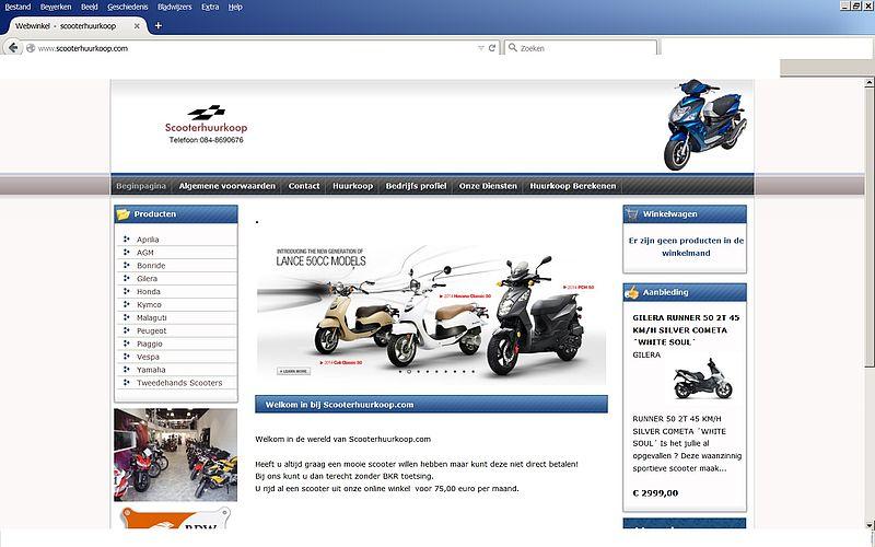'Doe geen aankopen bij Scooterhuurkoop.com'
