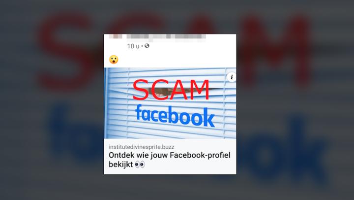Weten wie op Facebook jouw profiel heeft bekeken? Trap er niet in!