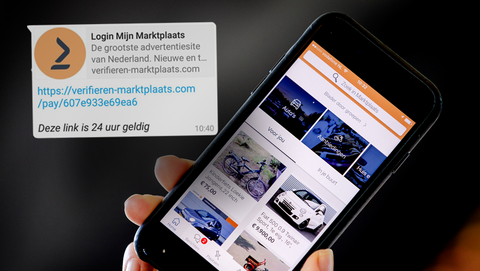 Verificatieverzoek via Marktplaats? Oplichters zetten nieuwe variant van een levensechte nepsite online