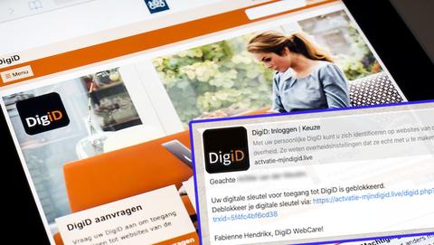 Via WhatsApp benaderd door de webcare van 'DigiD'? Pas op: het is een nieuwe oplichtingstruc