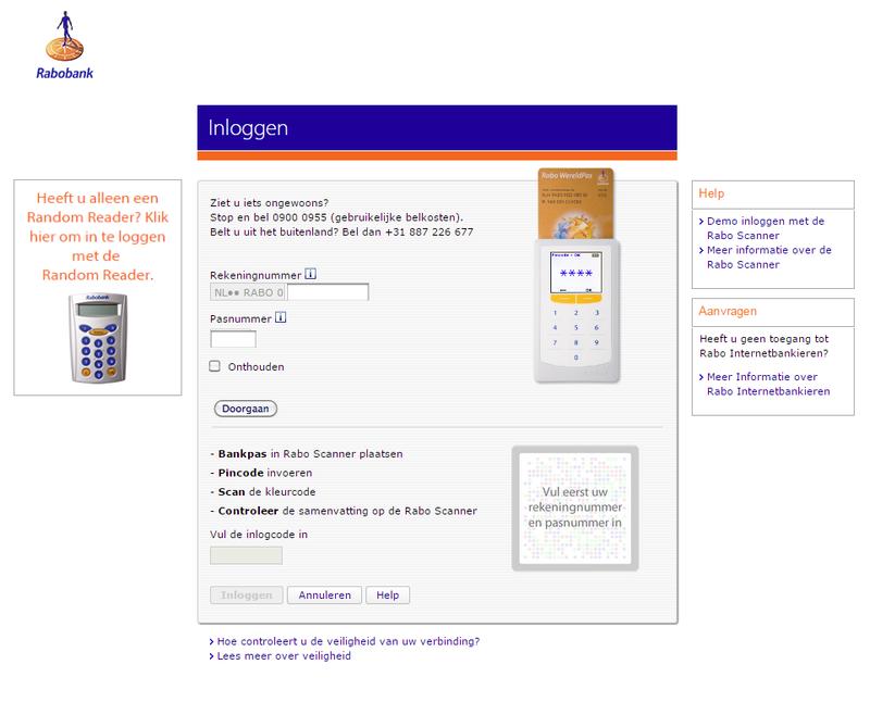 Valse mail over Rabobank 'NFC-2 betaalpas'