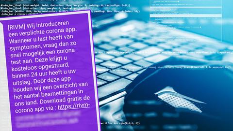 Gevaarlijke malware voor Android in sms van 'RIVM' over verplichte corona-app