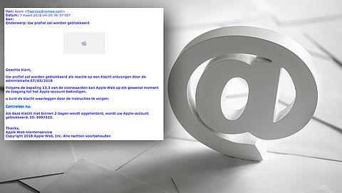 E-mail 'Apple' blijkt phishing