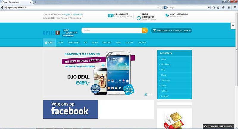 'Optie1-bergambacht.nl misbruikt gegevens bonafide bedrijf'