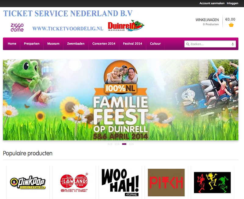 'Ticketvoordelig.nl maakt misbruik van gegevens Ticket Service Nederland B.V.'