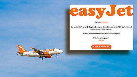 Misleidende winactie: 'Je vliegtickets zijn gereed, bevestig je deelname'