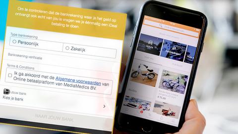 Marktplaats-oplichtingstruc is nog altijd actueel: 'Doe een iDEAL-betaling en verifieer je rekening'