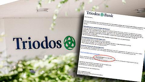 E-mail 'Triodos' over update blijkt phishing