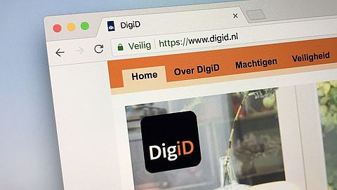 Valse berichten van DigiD in omloop