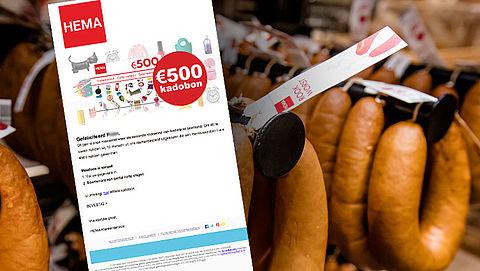 Valse winactie HEMA: 'De lekkerste rookworst van Nederland'
