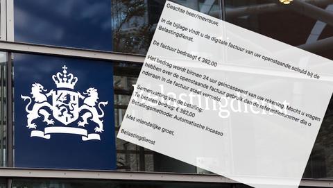 Valse mail van 'Belastingdienst' bevat schadelijke malware