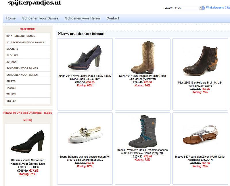 Politie waarschuwt voor spijkerpandjes.nl
