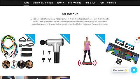 Politie waarschuwt: 'Bestel niet bij de onbetrouwbare webshop 247sale.nl'