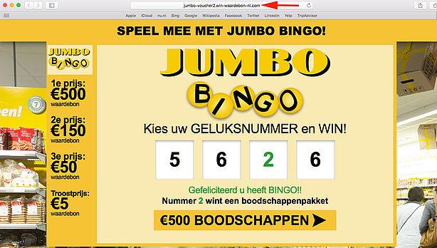 Verwonderlijk Trap niet in valse winactie 'Jumbo' - Opgelicht?! - AVROTROS FY-21