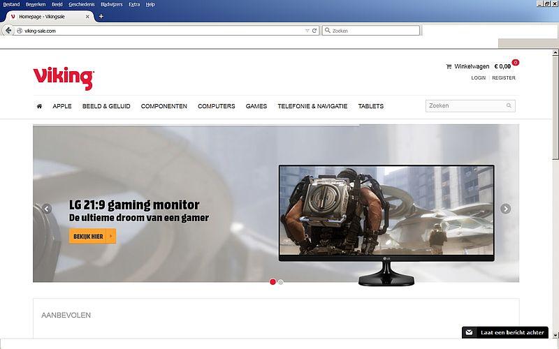 'Viking-sale.com adverteert op gehackte accounts'