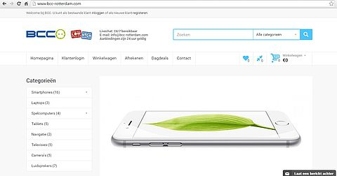 Let op voor de website bcc-rotterdam.com