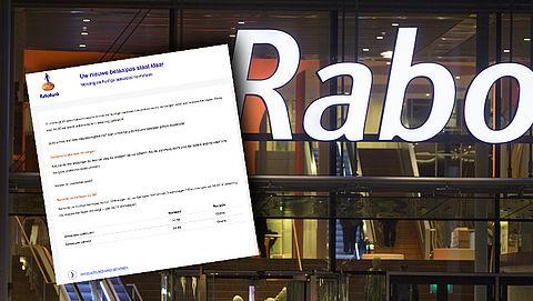 Trap niet in phishingmails van 'Rabobank' over bankpas opsturen