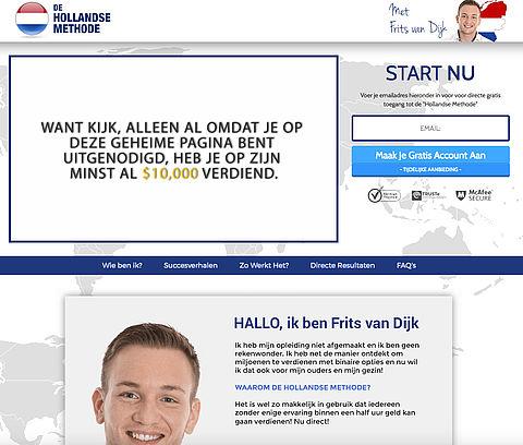 Veel e-mails verstuurd over 'de Hollandse Methode'