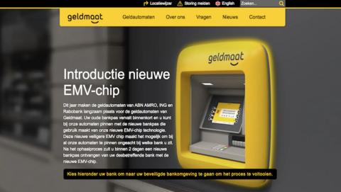 Hebben klanten van ABN AMRO, Rabobank en ING een betaalpas met EMV-chip nodig voor de Geldmaat?