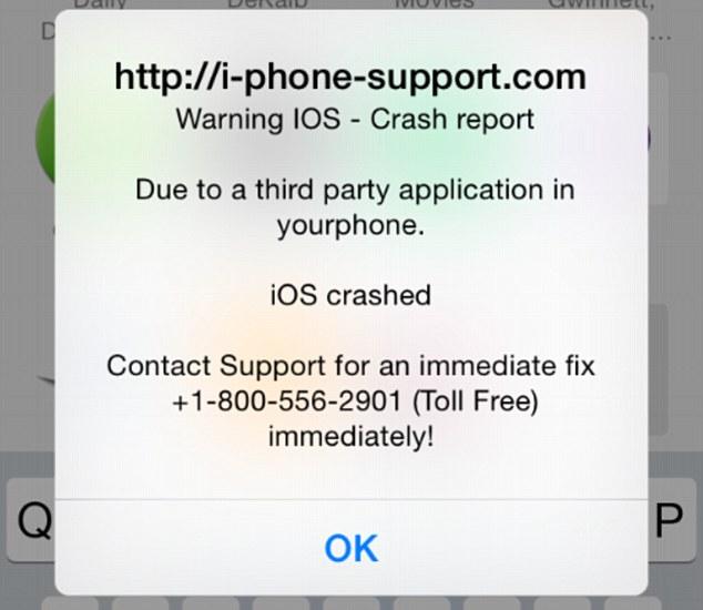 Pas op voor oplichting via je iPhone!