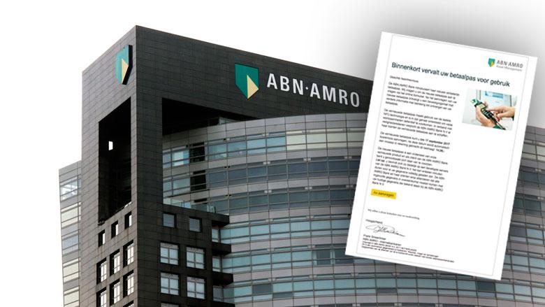 Valse e-mail ABN AMRO: 'Binnenkort vervalt uw betaalpas'