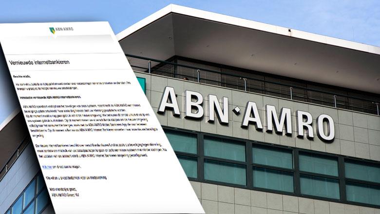 Valse e-mail 'ABN AMRO' over internetbankieren