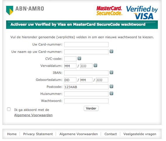 Pas op voor ABN AMRO / ICS-phishing!